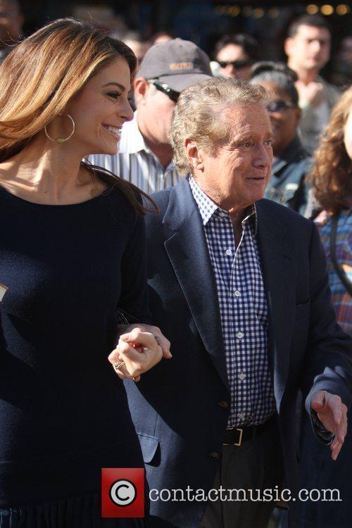 Regis Philbin and Maria Menounos 4