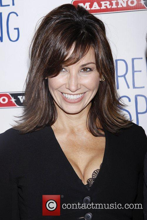 Gina Gershon  A variety of stars attended...