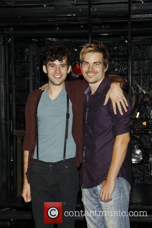 Adam Chanler-Berat and Matt Shingledecker  Meet and...