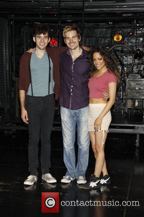 Adam Chanler-Berat, Matt Shingledecker and Arianda Fernandez...