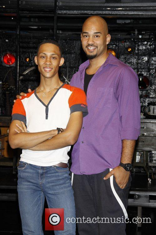 MJ Rodriguez and Nicholas Christopher  Meet and...