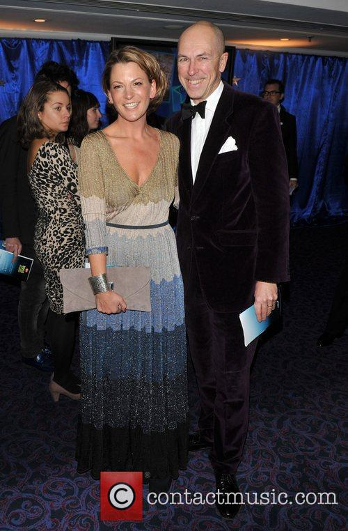 Dylan Jones and guest Retail Trust London Ball...