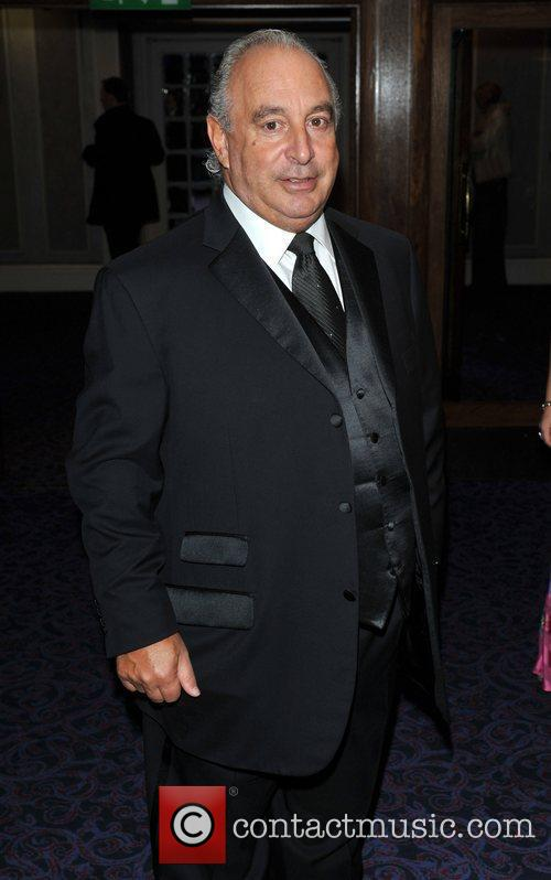 Sir Philip Green Retail Trust London Ball held...