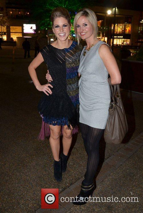 Amy Huberman and Siobhan O'Connor film premiere of...