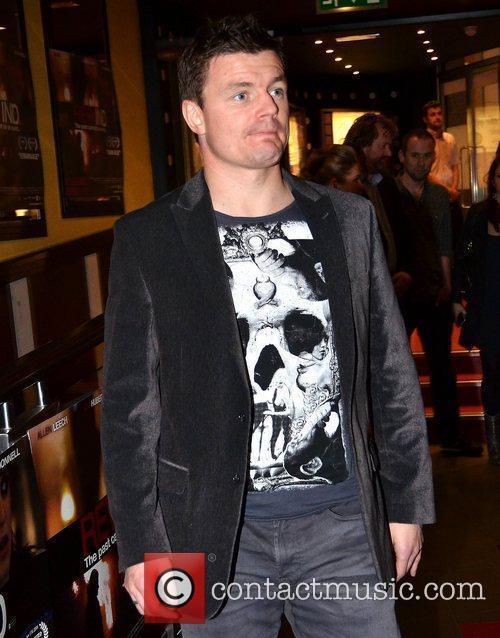 Brian O'Driscoll film premiere of 'Rewind' held at...