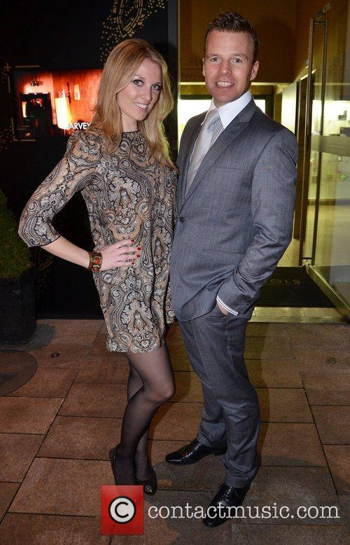 Tara Leniston and Andrew Fowler film premiere of...