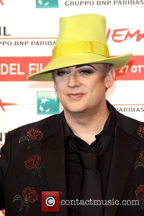 Singer Boy George 6th International Rome Film Festival...