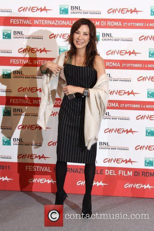 Actress Michelle Yeoh  6th International Rome Film...