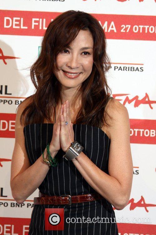 Actress Michelle Yeoh 6th International Rome Film Festival...