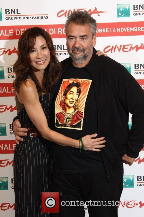 Michelle Yeoh and Luc Besson 5