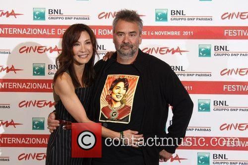 Michelle Yeoh and Luc Besson 6