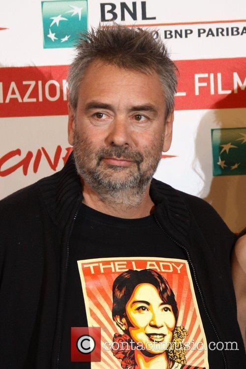 Director Luc Besson  6th International Rome Film...