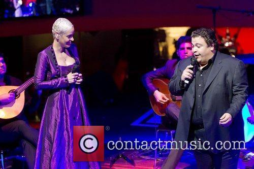 Mariza and Ricardo Ribeiro performing live at Casino...