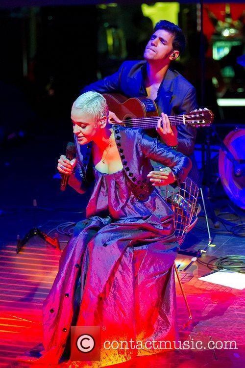 Mariza performing live at Casino de Lisboa