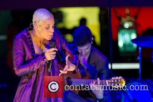 Mariza performing live at Casino de Lisboa Lisbon,...