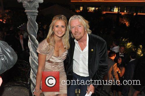 Holly Branson and Richard Branson 5