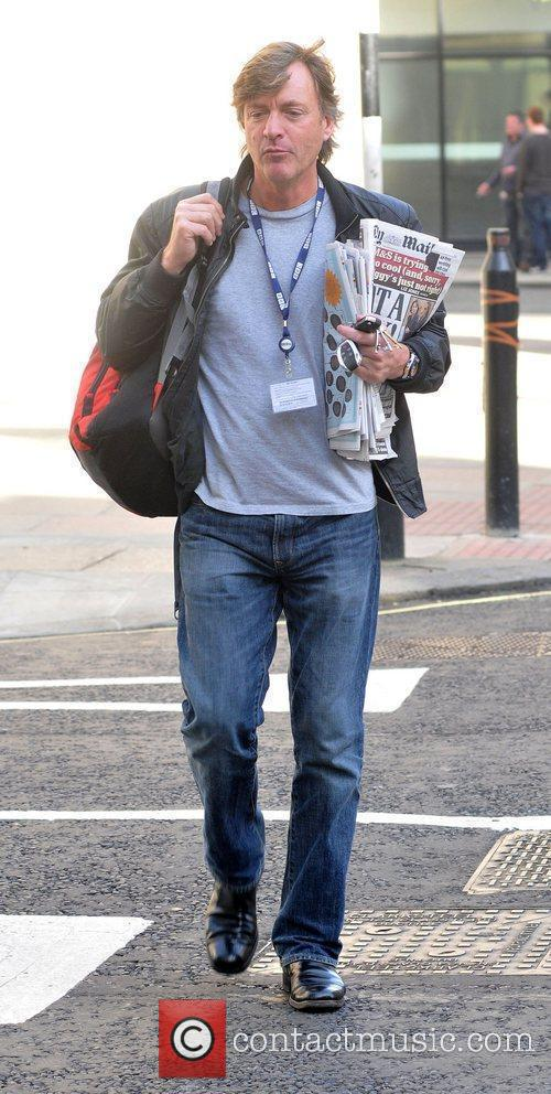 Arriving at the BBC Radio Two studios