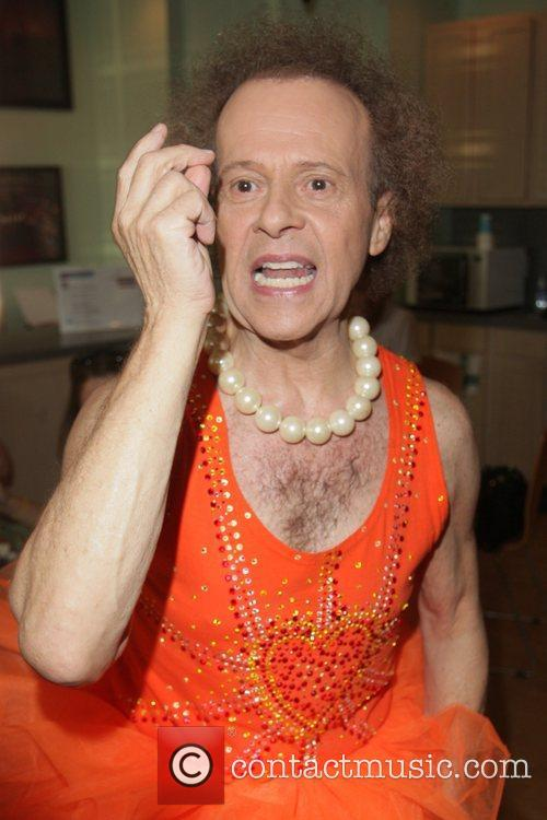 Richard Simmons seen arriving for one of his...