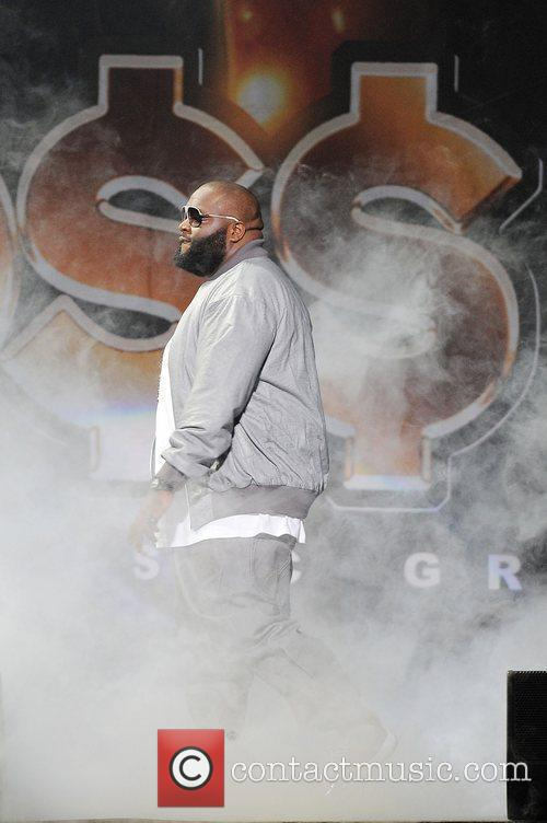 Rick Ross performs during the 'I Am Music...