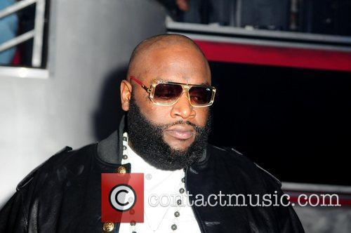 Rick Ross and Stevie J's birthday party at...