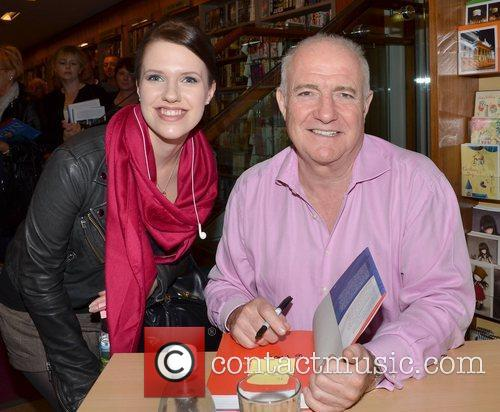 Celebrity chef Rick Stein  signs copies of...