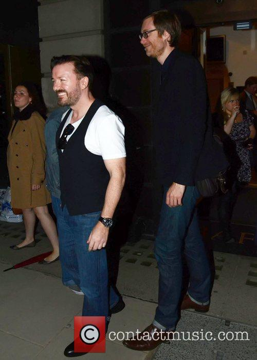 Ricky Gervais and Stephen Merchant 9