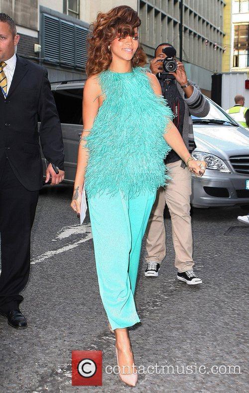Rihanna and Fraser 1