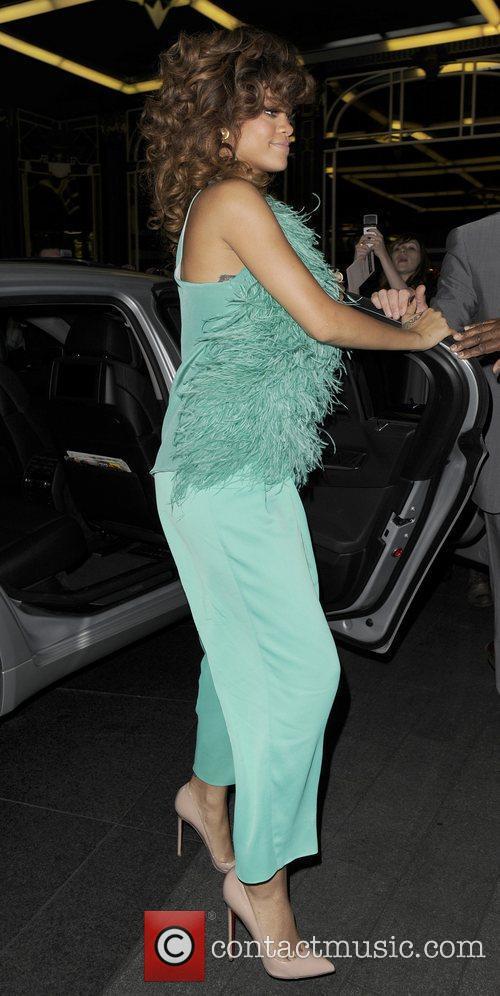 Rihanna, Fraser
