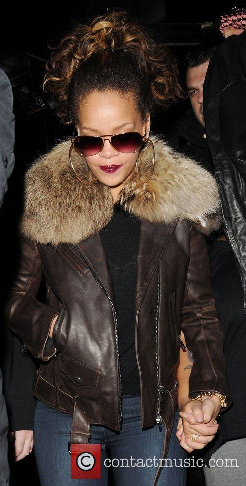 Rihanna's shy pal stepped out of line as...