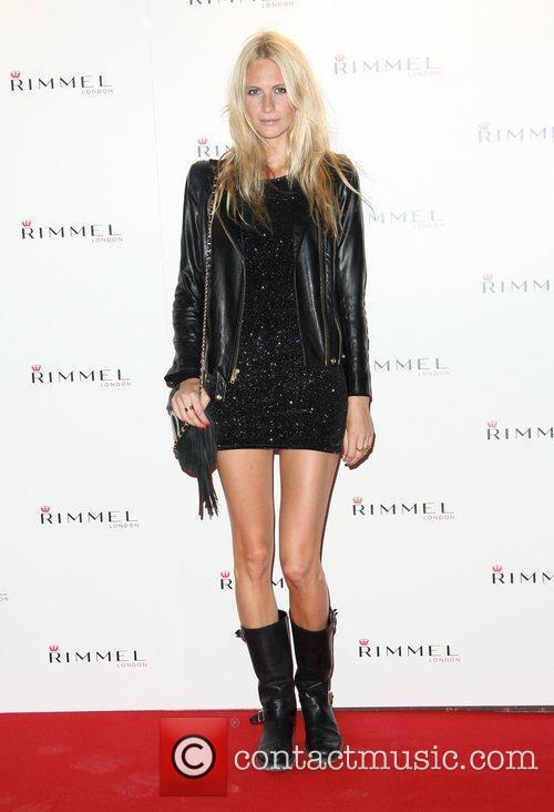 Poppy Delevingne Rimmel London party held at Battersea...