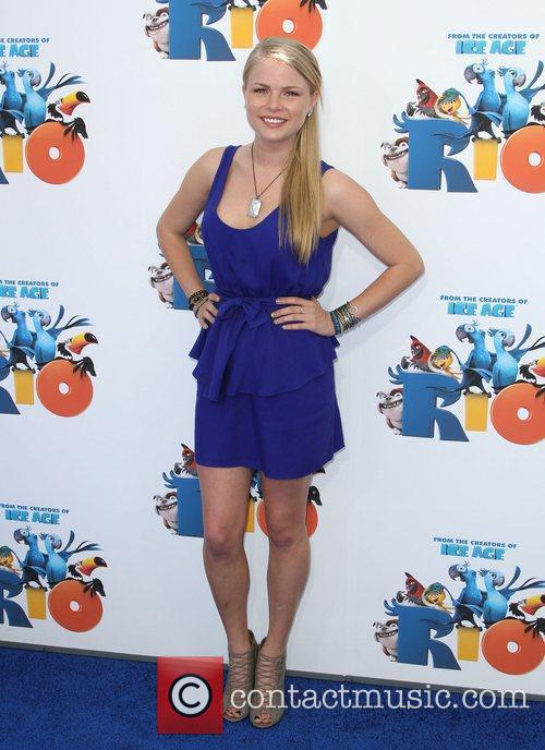Kelli Goss Los Angeles premiere of 'Rio' held...