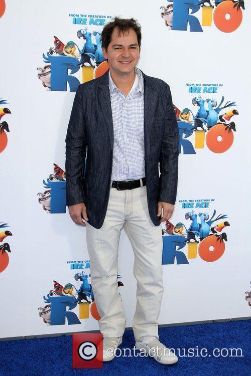 Carlos Saldanha Los Angeles premiere of 'Rio' held...