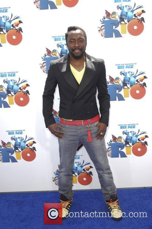 Will.i.am,  Los Angeles premiere of 'Rio' held...