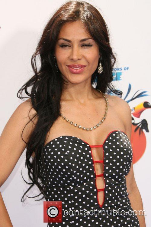 Carla Ortiz Los Angeles Premiere Rio held at...