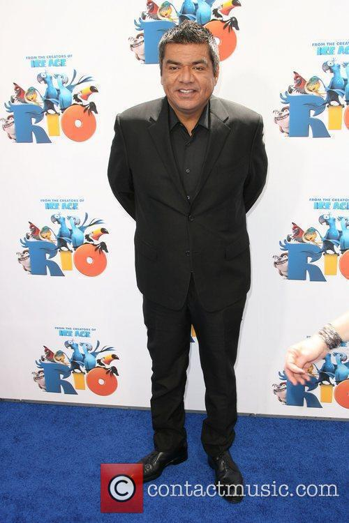 George Lopez Los Angeles Premiere Rio held at...