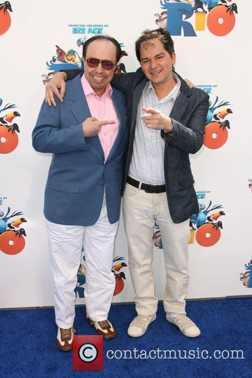 Sergio Mendes and Director Carlos Saldanha Los Angeles...