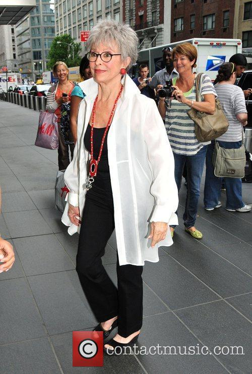 Puerto Rican singer and actress, Rita Moreno, arriving...