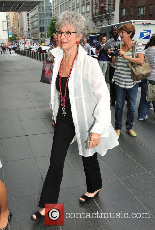 Puerto Rican singer and actrees, Rita Moreno, arriving...