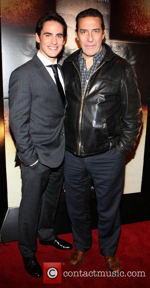 Actors Colin O Donoghue and Ciaran Hynds The...