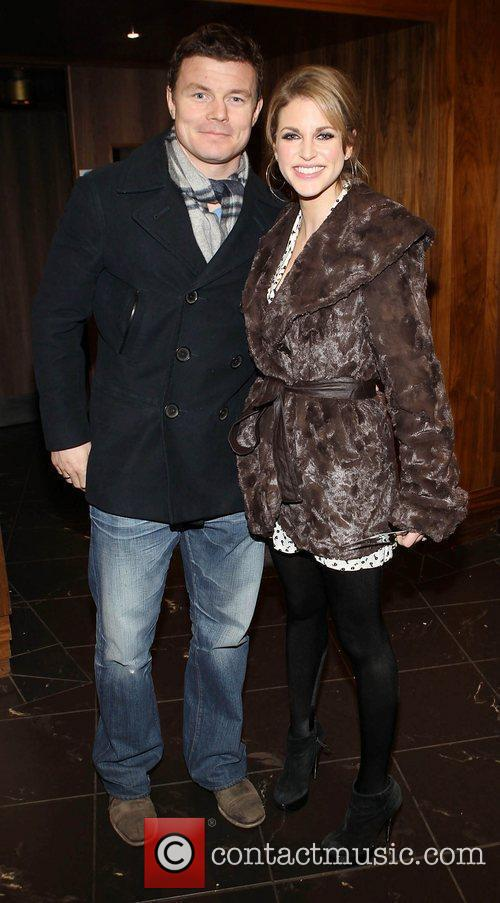 Brian O Driscoll and wife Amy Hubberman The...