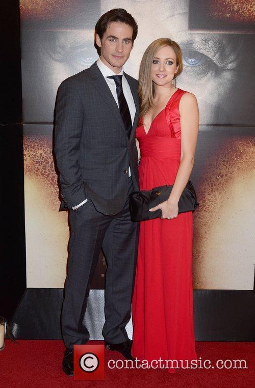 Colin O'Donoghue, Sarah O'Donoghue The European Premiere of...