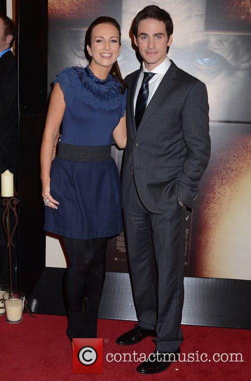 Lorraine Keane, Colin O'Donoghue The European Premiere of...
