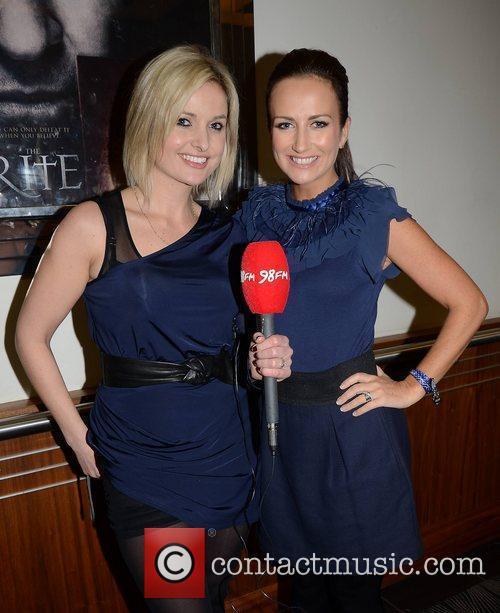 Siobhan O'Connor, Lorraine Keane The European Premiere of...