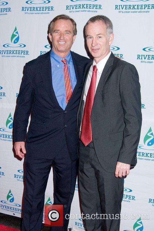 Robert F Kennedy Jr and John McEnroe Riverkeeper...