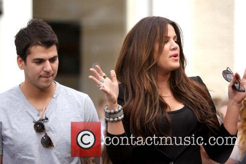 Rob Kardashian and Khloe Kardashian interviewed by Mario...