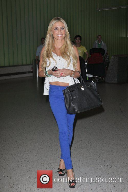 Claudine Palmer wife of Irish footballer Robbie Keane,...