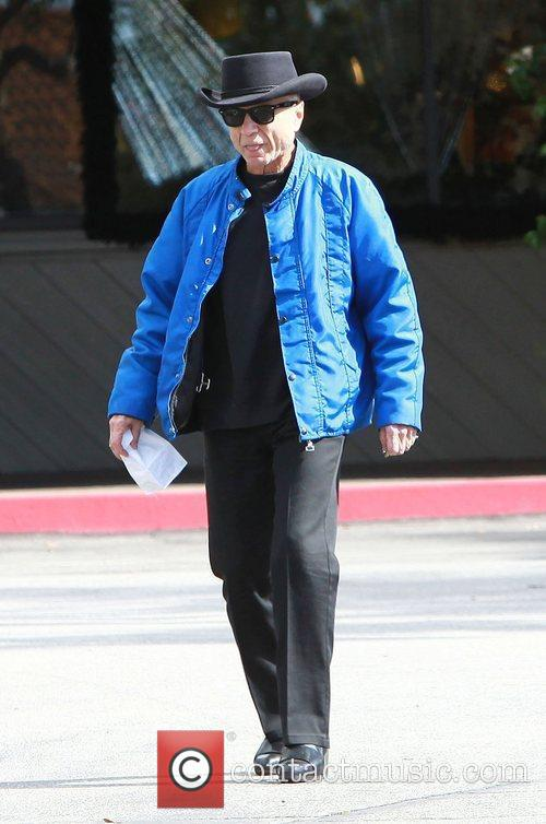Robert Blake leaves a cafe after having breakfast...