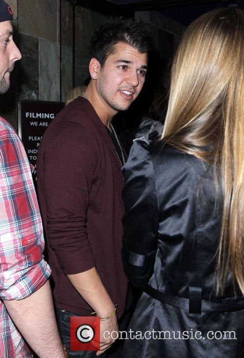 Robert Kardashian celebrates his birthday at Jet nightclub...