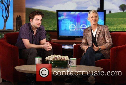 Robert Pattinson appears on the 'The Ellen DeGeneres...