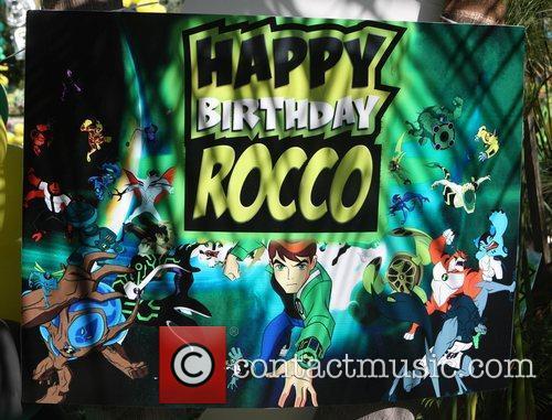 Atmosphere Christian Audigier's son Rocco celebrates his birthday...